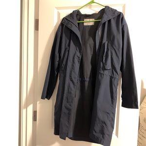 Everlane Jackets & Coats - Everlane Anorak Navy Raincoat XS
